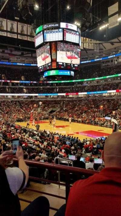 United Center, sección: 119, fila: 17, asiento: 20