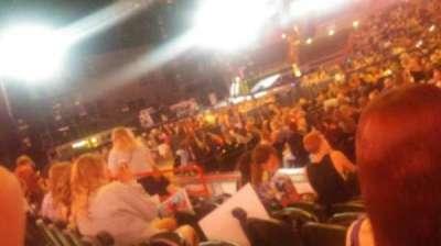 Spokane Arena, sección: 115, fila: D, asiento: 11