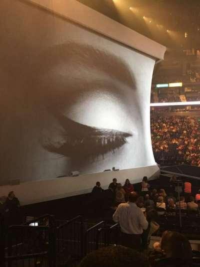 Bridgestone Arena, sección: 114, fila: JJ, asiento: 19
