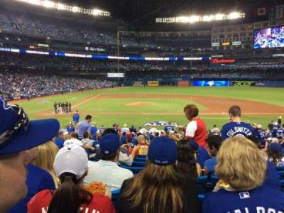 Rogers Centre, sección: 117, fila: 29, asiento: 108