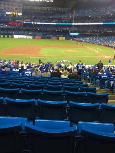 Rogers Centre, sección: 126, fila: 39, asiento: 3