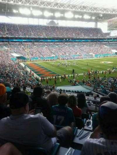 Hard Rock Stadium, sección: 252, fila: 6, asiento: 16