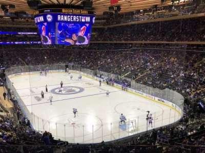 Madison Square Garden, sección: 202, fila: 2, asiento: 13