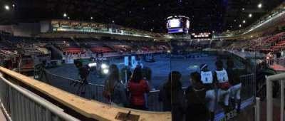Ricoh Coliseum, sección: 104, fila: A, asiento: 2