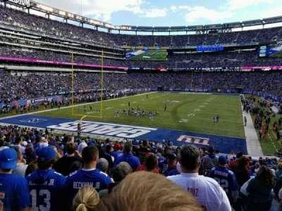 MetLife Stadium, sección: 149, fila: 28, asiento: 1