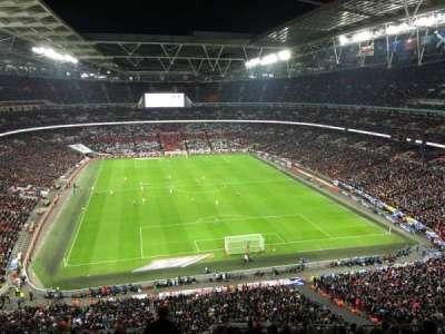 Wembley Stadium, sección: 541, fila: 4, asiento: 54