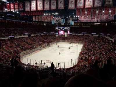 Joe Louis Arena, sección: 213a, fila: 13, asiento: 13