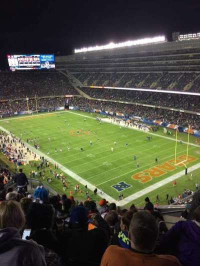 Soldier Field, sección: 429, fila: 12, asiento: 16