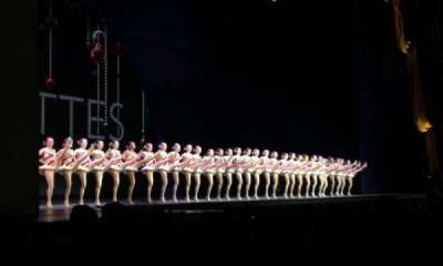 Radio City Music Hall, sección: Orchestra 6, fila: KK, asiento: 614