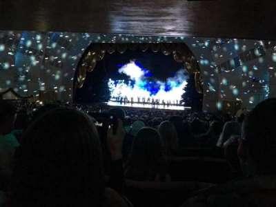 Radio City Music Hall, sección: Orchestra 3, fila: U, asiento: 301