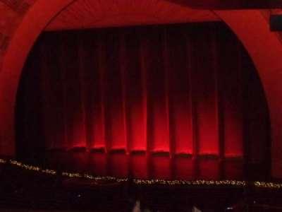 Radio City Music Hall, sección: 1st Mezzanine 1, fila: J, asiento: 110