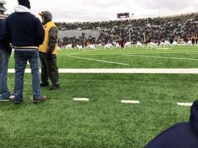 Notre Dame Stadium, sección: 17, fila: B, asiento: 2