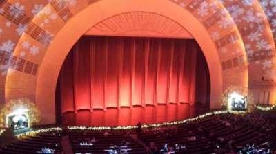 Radio City Music Hall, sección: 2nd Mezzanine 6, fila: A, asiento: 606