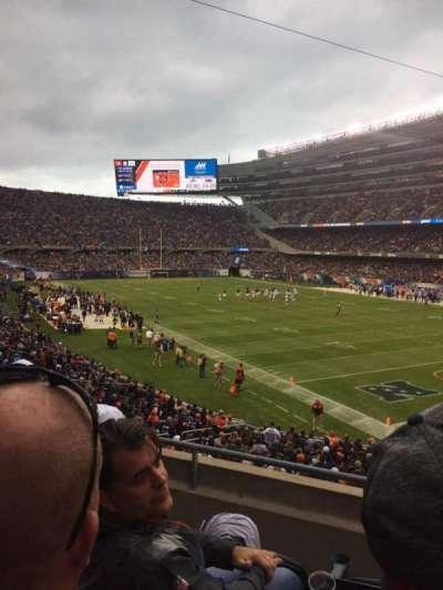 Soldier Field, sección: 228, fila: 3, asiento: 4