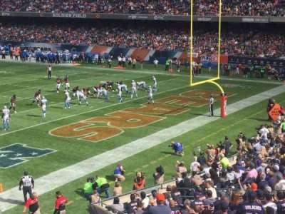 Soldier Field, sección: 228, fila: 3, asiento: 9