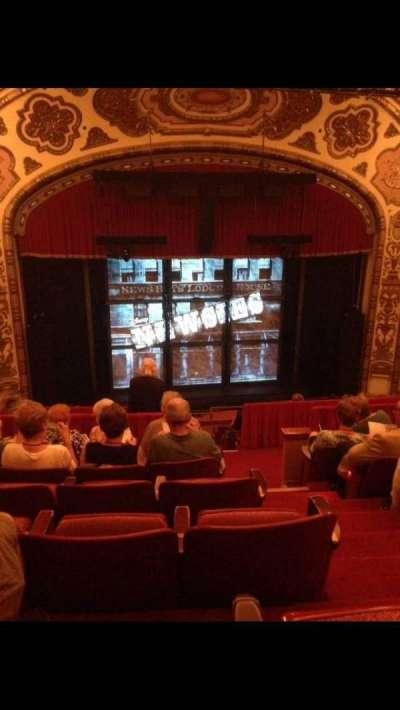 Cadillac Palace Theater, sección: Balcony LC, fila: J, asiento: 306