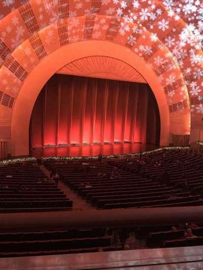 Radio City Music Hall, sección: 1st mezzanine 6, fila: A, asiento: 611