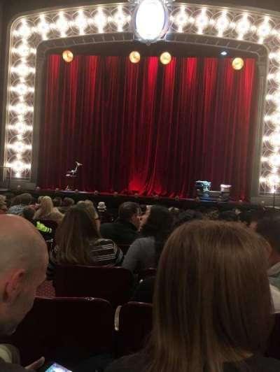 Palace Theatre (Broadway), sección: Orchestra, fila: M, asiento: 104