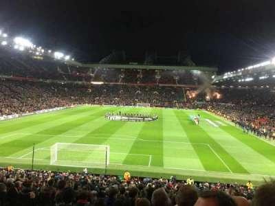Old Trafford, sección: W206, fila: 20, asiento: 166