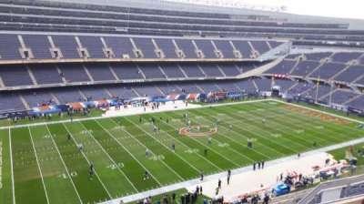 Soldier Field, sección: 441, fila: 5, asiento: 7