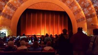 Radio City Music Hall, sección: Orchestra 5, fila: G, asiento: 501-504