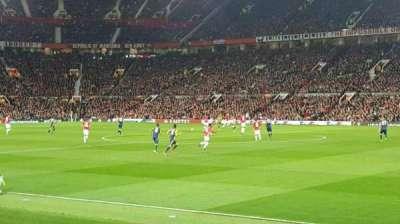 Old Trafford, sección: Sth127, fila: 4, asiento: 53