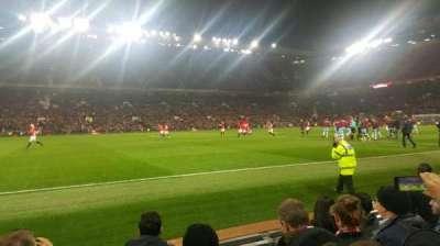 Old Trafford, sección: Sth123, fila: EE, asiento: 176