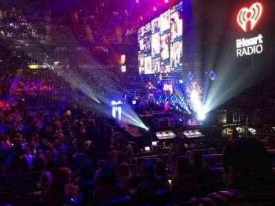 Philips Arena, sección: 103, fila: P, asiento: 5