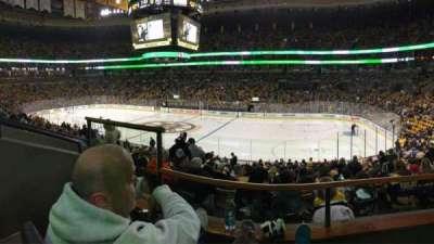TD Garden, sección: CLUB 137, fila: BB, asiento: 9