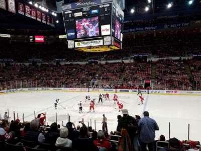 Joe Louis Arena, sección: 106, fila: 15, asiento: 15