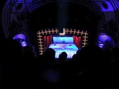 Palace Theatre (Broadway), sección: Balcony, fila: F, asiento: 110