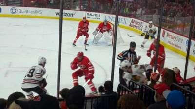 PNC Arena, sección: 101, fila: H, asiento: 5