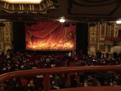 Cadillac Palace Theater, sección: dress circle rc, fila: A, asiento: 224