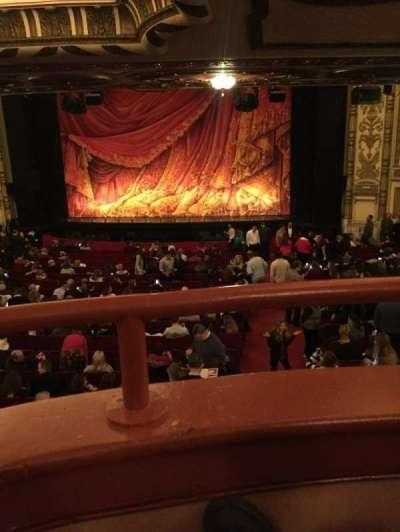 Cadillac Palace Theater, sección: dress circle rc, fila: A , asiento: 223