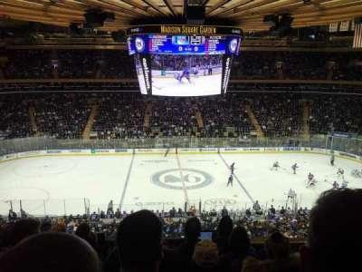 Madison Square Garden, sección: 211, fila: 7, asiento: 2