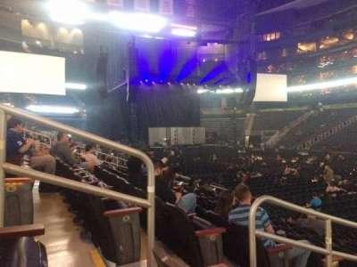 Philips Arena, sección: 113, fila: L, asiento: 11