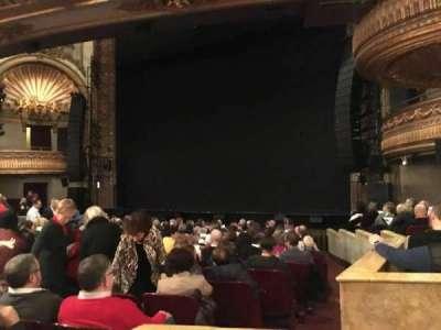 Palace Theatre (Broadway), sección: Orchestra, fila: N, asiento: 4