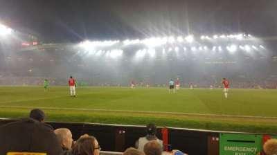 Old Trafford, sección: N1408, fila: DD, asiento: 130
