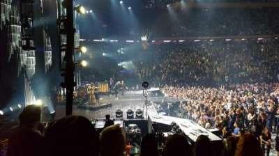 Madison Square Garden, sección: 115, fila: 7, asiento: 10