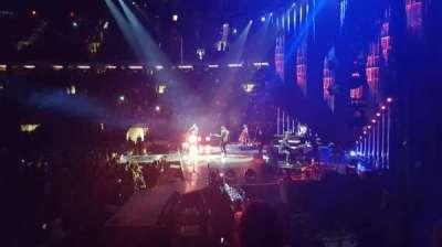 Madison Square Garden, sección: 109, fila: 6, asiento: 2