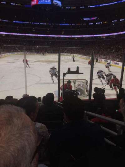 United Center, sección: 117, fila: 8, asiento: 4