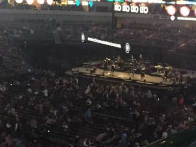 American Airlines Center, sección: 213, fila: A, asiento: 1