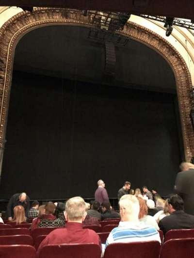 Palace Theatre (Broadway), sección: Orchestra, fila: N, asiento: 119
