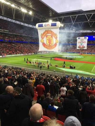 Wembley Stadium, sección: 110, fila: 30, asiento: 223