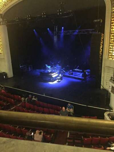 Orpheum Theatre (Boston), sección: Mezzanine, fila: A, asiento: 4