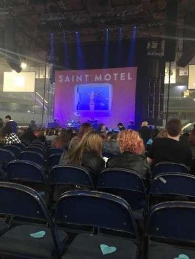 Allstate Arena, sección: 3, fila: 26, asiento: 17