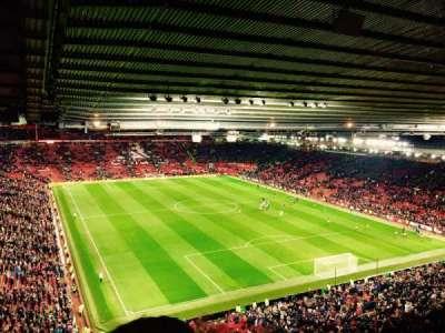 Old Trafford, sección: 3434, fila: 4, asiento: 20