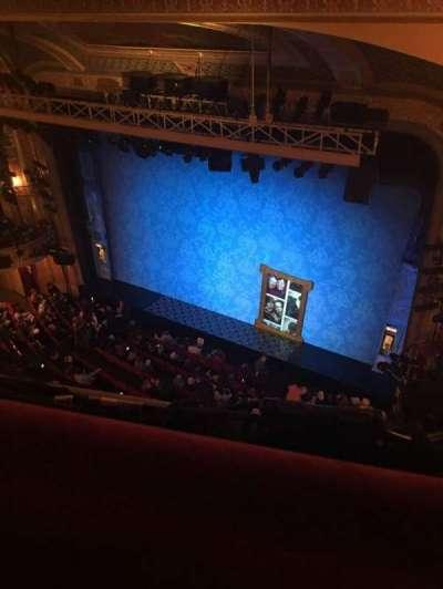 Walter Kerr Theatre, sección: Balc Right, fila: A, asiento: 34