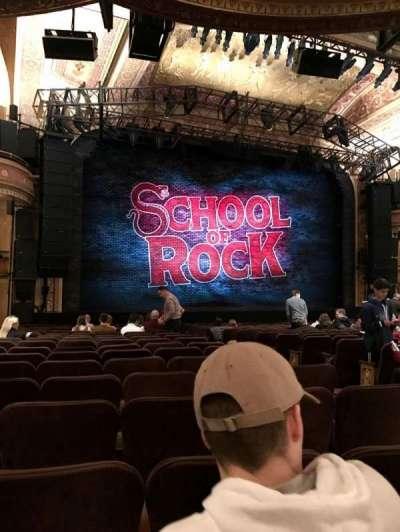 Winter Garden Theatre, sección: ORCH, fila: S, asiento: 05