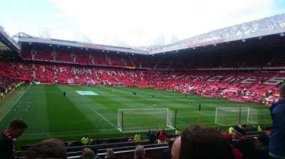 Old Trafford, sección: E233, fila: 10, asiento: 163